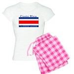 Costa Rica Costa Rican Flag Women's Light Pajamas