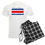 Costa Rica Costa Rican Flag Men's Light Pajamas