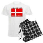 Denmark Danish Flag Men's Light Pajamas