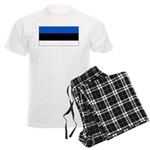 Estonia Estonian Blank Flag Men's Light Pajamas