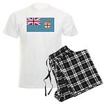 Fiji Fijian Blank Flag Men's Light Pajamas