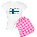 Finland Finish Flag Women's Light Pajamas
