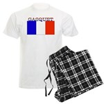 Gasquet France Flag Men's Light Pajamas