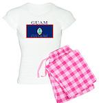 Guam Guaminian Flag Women's Light Pajamas