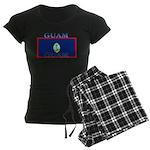 Guam Guaminian Flag Women's Dark Pajamas