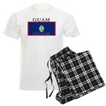 Guam Guaminian Flag Men's Light Pajamas