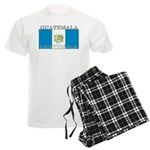 Guatemala Guatemalan Flag Men's Light Pajamas