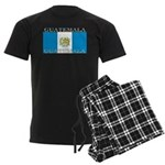 Guatemala Guatemalan Flag Men's Dark Pajamas