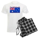 Heard & McDonald Flag Men's Light Pajamas