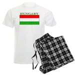 Hungary Hungarian Flag Men's Light Pajamas