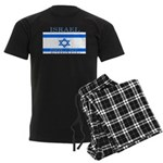 Israel Israeli Flag Men's Dark Pajamas