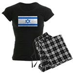 Israel Jewish Flag Women's Dark Pajamas
