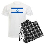 Israel Jewish Flag Men's Light Pajamas