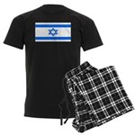 Israel Jewish Flag Men's Dark Pajamas