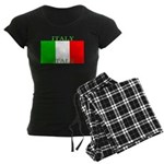 Italy Italian Flag Women's Dark Pajamas