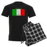 Italy Italian Flag Men's Dark Pajamas