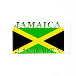 Jamaica Jamaican Flag Aluminum License Plate