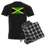 Jamaica Jamaican Blank Flag Men's Dark Pajamas