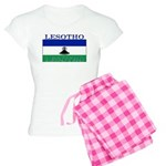 Lesotho Flag Women's Light Pajamas