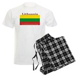 Lithuania Lithuanian Flag Men's Light Pajamas