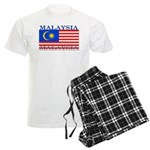 Malaysia Malaysian Flag Men's Light Pajamas