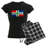 'Groningen Gronings Blank Fla Women's Dark Pajamas