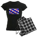 Friesland Frisian Flag Women's Dark Pajamas