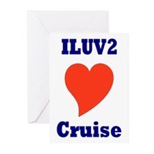 Unique Carnival cruise Greeting Cards (Pk of 10)