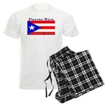 Puerto Rico Rican Flag Men's Light Pajamas