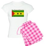 Sao Tome & Principe Women's Light Pajamas