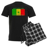 Senegal Senegalese Flag Men's Dark Pajamas
