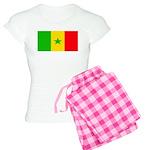 Senegal Blank Flag Women's Light Pajamas