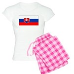 Slovakia Blank Flag Women's Light Pajamas