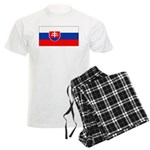 Slovakia Blank Flag Men's Light Pajamas