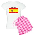 Spain Spanish Flag Women's Light Pajamas