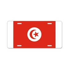 Tunisia Tunisian Flag Aluminum License Plate