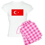 Turkey Turkish Blank Flag Women's Light Pajamas