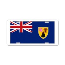 Turks & Caicos Aluminum License Plate