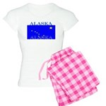 Alaska State Flag Women's Light Pajamas