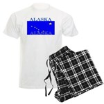Alaska State Flag Men's Light Pajamas