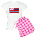 Hawaii Hawaiian Blank Flag Women's Light Pajamas