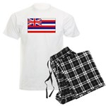 Hawaii Hawaiian Blank Flag Men's Light Pajamas