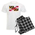 Maryland Blank Flag Men's Light Pajamas
