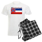 Mississippi State Flag Men's Light Pajamas