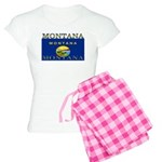 Montana State Flag Women's Light Pajamas