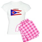 Ohio State Flag Women's Light Pajamas