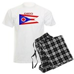 Ohio State Flag Men's Light Pajamas