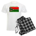 Vanuatu Vanuatuan Flag Men's Light Pajamas