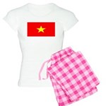 Vietnam Vietnamese Blank Flag Women's Light Pajama