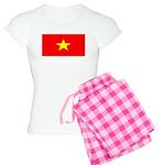 Vietnam Vietnamese Blank Flag Women's Light Pajama